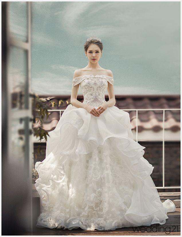 [웨딩 드레스]꿈결같이 아름다운 드레스를 만날 수 있는 공간, 몽유애 < 웨딩뉴스 < 웨딩검색 웨프