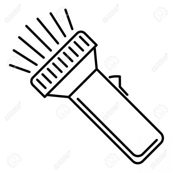 Flashlight Printable Google Search Flashlight Craft Clip Art Free Clip Art