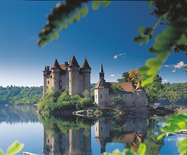 Château de Val in Bort les Orgues, Limousin, France