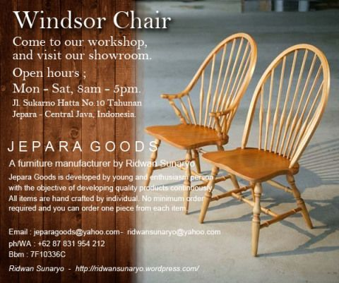 windsor chair manufacturer,kursi windsor,kursi skandinavia,danish chair,scandinavian chair,windsor chair,furniture duco jepara,furniture bubut mahoni,jepara goods,ridwan sunaryo,mebel murah jepara