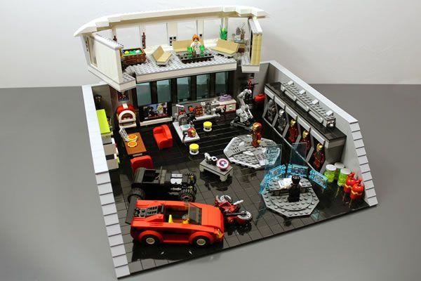 En week-end chez Tony Stark - http://www.brickheroes.com