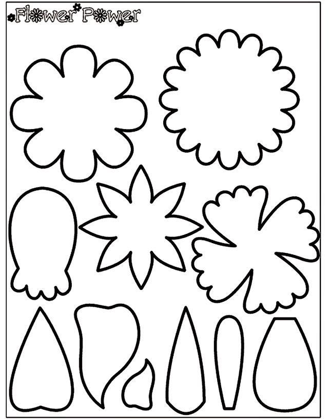 100 Printable Flower Patterns