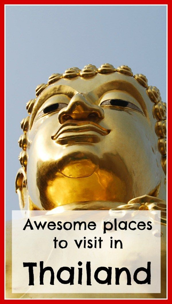 If you visit Thailand and only see Phuket or Bangkok, you are really missing out! Click on the image above for more awesome places you can visit in Thailand.