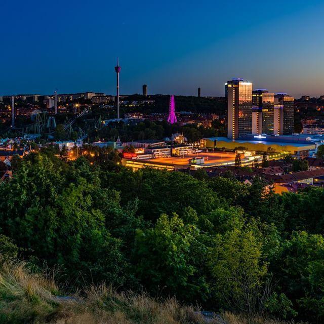 Gothenburg Sweden. 18 August 2015. #göteborg #gothenburg #visitgoteborg #visitgothenburg #visitsweden #gothiatowers #liseberg #sweden