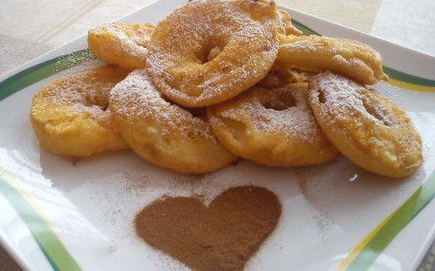 Bundázott almakarikák recept fotóval