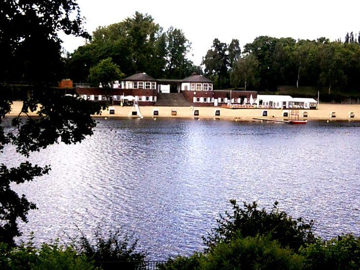 Tretboot fahren auf Plötzensee/Möwensee im Volkspark Rehberge