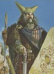 King Llud Llaw of Ludgate [London] He was son of Beli Mar, the Druid High King. He rebuilt New Troy, as he was descended from Brutus & the famous Trojans all the way back to Goshen, Egypt. They are my ancestors//I have 6 lines to Llud/13 to Beli