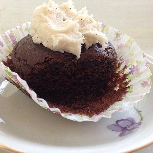 Gluten-Free Cocao and Quinoa Cupcakes | Foodie | Pinterest