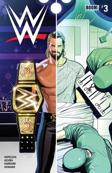 JAN171411 (W) Dennis Hopeless, Tini Howard (A) Serg Acu?a (CA) Dan Mora Following his near career-ending knee injury, Seth Rollins is at his lowest. Rather than give up, he buckles down and vows to re
