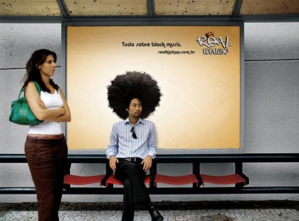 Creative Bus Stop Ad