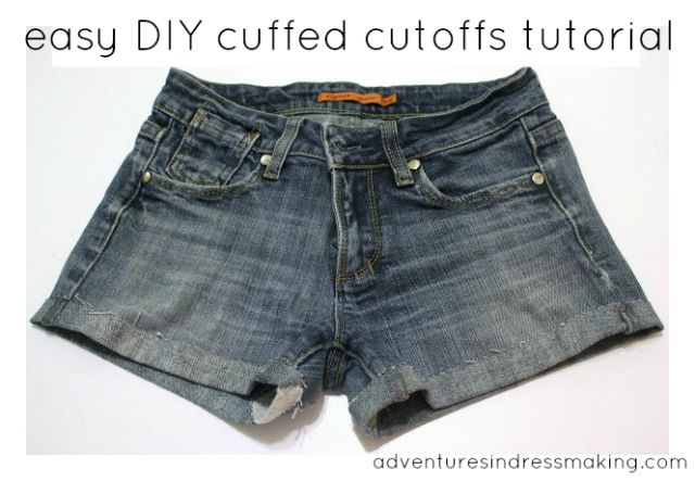 Create / Enjoy: This summer's DIY cut-off jeans shorts--Tutorial!