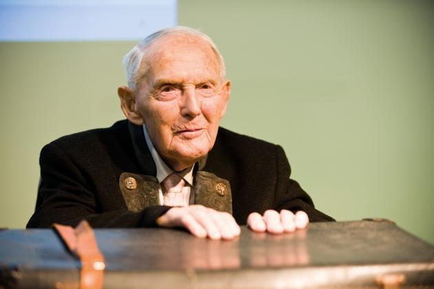 Holocaust Survivor Leopold Engleitner