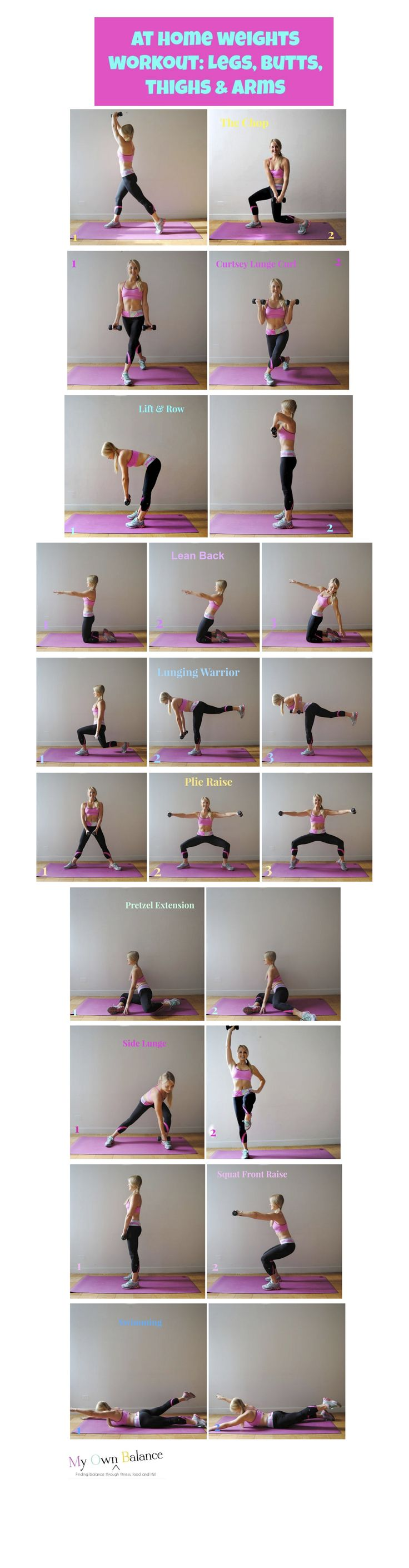 At-Home Weights Workout (total body) - My Own Balance