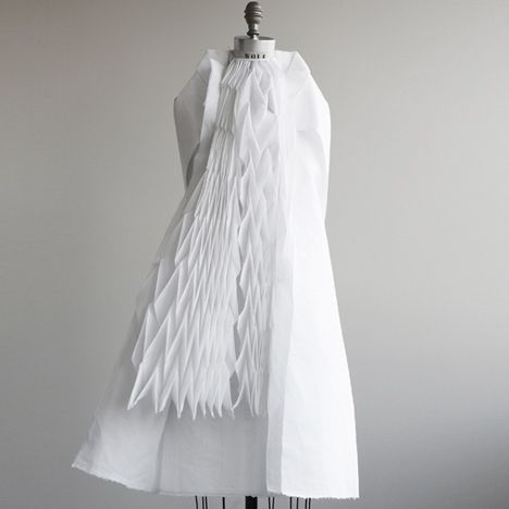 Ying Gao, Montreal, Walking City dresses that fill with air as they move to make them look as though they are breathing.