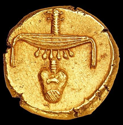 fabulous pictures: Ancient Egyptian gold coin.