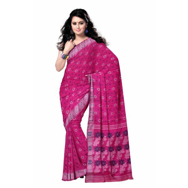 West Bengal's traditional baluchari cotton sarees online shopping - Odisha Saree Store