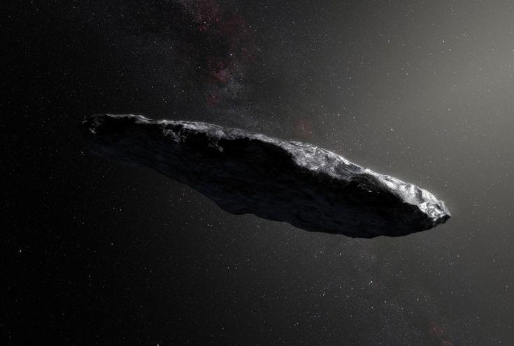 1I/2017 U1 (`Oumuamua), il primo asteroide interstellare mai individuato! ✨ ▶️ Ricordate la cometa che sembrava venire dallo spazio interstellare di qualche settimana fa? Poi si era rivelata essere un asteroide ...e ora eccolo qui! La sua provenienza esterna al Sistema solare è stata confermata, è scuro, rossastro, molto allungato e adesso ha un nome tutto suo: 1I/2017 U1 (`Oumuamua), il primo di una nuova classe di #AsteroidiInterstellari!