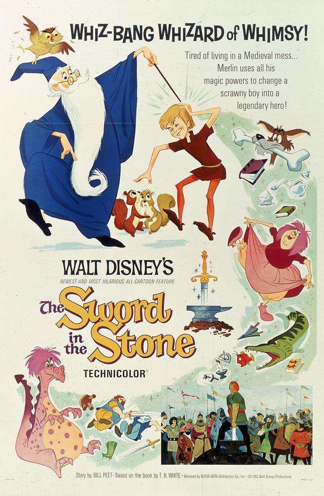 La espada en la piedra - Mi película favorita!! ♡