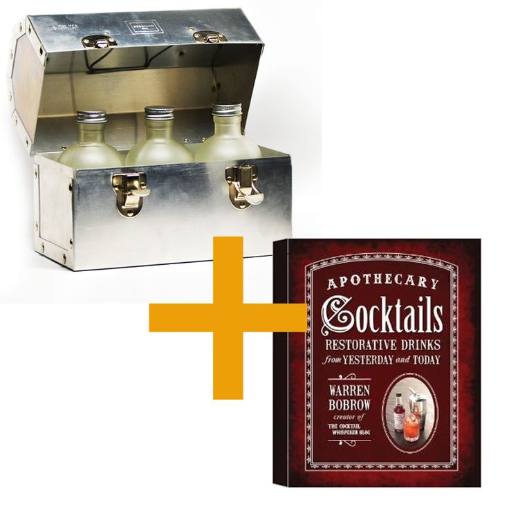 Liquid Lunchbox and Apothecary Cocktail Book #all #all-goods #all-home