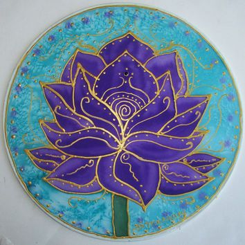 mandala, Purple Lotus, lotus art, yoga art, spiritual art, meditation art, Goddess art, mandala,chakra, reiki