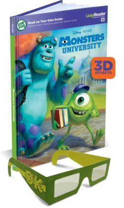 LeapFrog: LeapReader: Read on Your Own Series: Disney PIXAR Monsters University Age: 5 - 8 Years Old Language: English UPC: 708431212206