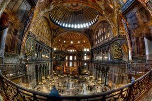 トルコ・イスタンブル アヤソフィア博物館画像/写真 高画質
