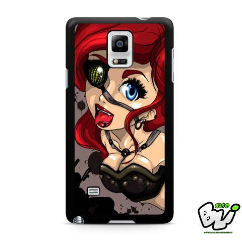 Ariel Mermaid Steampunk Samsung Galaxy Note 4 Case