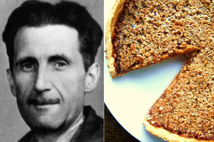 George Orwell's Treacle Tart from Paper and Salt.