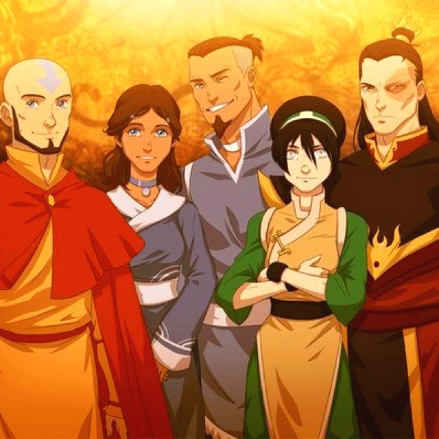 Avatar The Last Airbender Characters As Adults Avatar the last...