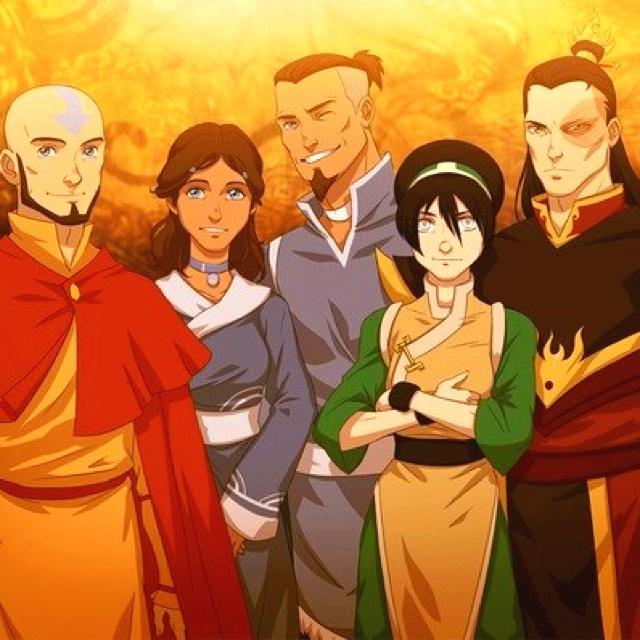 The Last Airbender Team Avatar