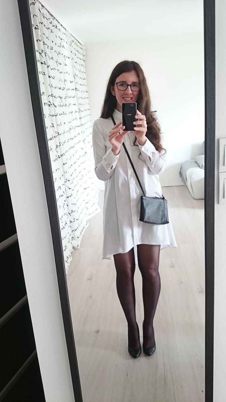 Ubrana nie przebrana | biała koszula | Slava Varsovia | Mohito