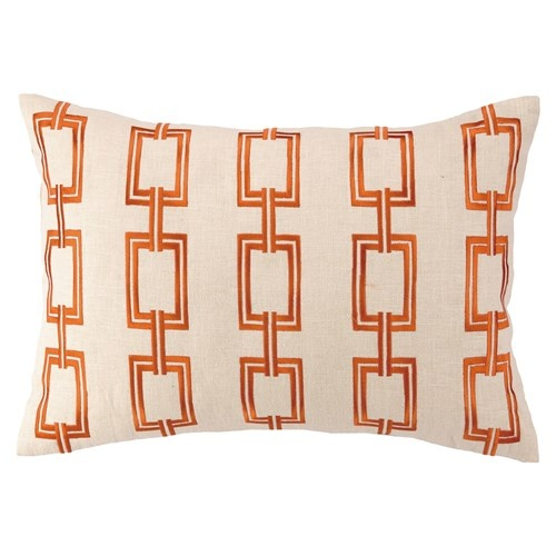 bring an eyecatching pop of pattern to your bed or sofa with this stylish pillow from dl rhein original design dimensions x and care spot clean