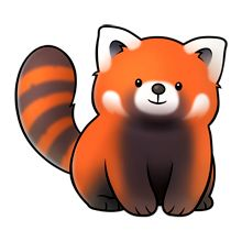 "ADDITIONAL RED PANDAS   INFORMATION #3: ""The Red Panda has been classified as Endangered by the IUCN because its wild population is estimated at less than 10,000 mature individuals & continues to decline due to habitat loss & fragmentation, poaching, & inbreeding depression, although Red Pandas are protected by national laws in their range countries. Wikipedia.""          (Image: ""majorclanger.co.uk fluffimagesf.htm."")"