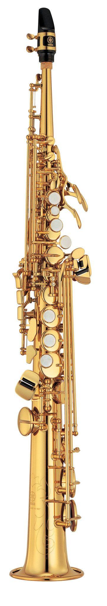 Yamaha YSS-475II Intermediate Series Soprano Saxophone