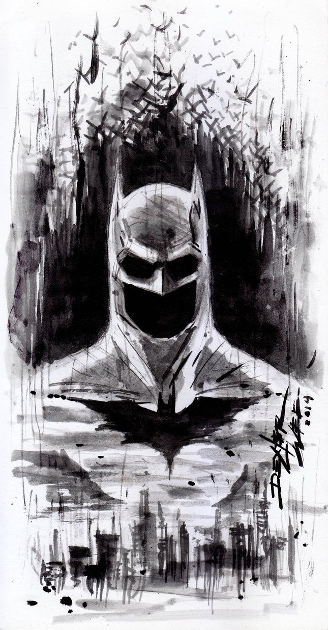 BATMAN DAY SKETCH by dexterwee on DeviantArt