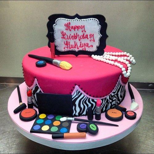 MAC Cosmetics Fondant Birthday Cake