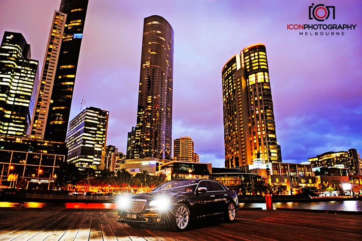 Wedding car hire Melbourne - Chrysler sedan