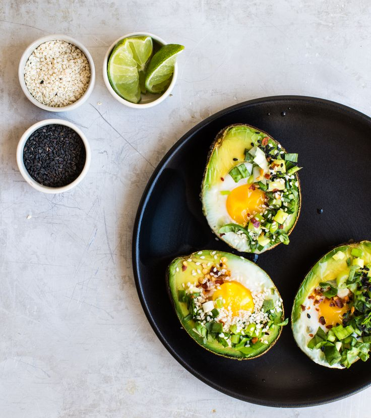 Filled with harissa, chili flakes and an egg, these baked avocados are truly something to marvel at and then devour.