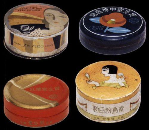 taishou-kun:Shiseidou 資生堂 cheekblush - Japan - 1932
