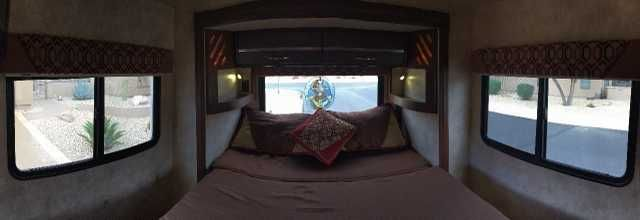 2012 Used Winnebago View 24G Class C in Arizona AZ.Recreational Vehicle, rv, 2012 Winnebago View 24G, Winnebago View Model 24G on a Mercedes Sprinter Chassis with the V6 Turbo Diesel (15 to 17 mpg). Just the right size for 2 but can sleep 4. Walk around queen bed with foam mattress in back and slide out sofa airbed in front. Six new tires and new chassis battery. Custom made 4x4 bumper. 3 way refrigerator, two flat screen TV, DVD, digital antenna, porcelain toilet, shower skylight, external…