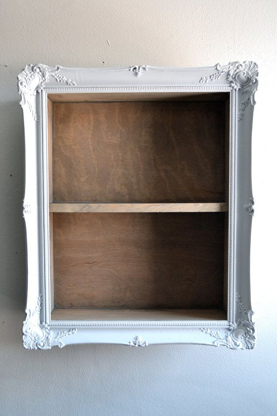 Large Frame Shelf. Make a large version with multiple shelves and store all spices there