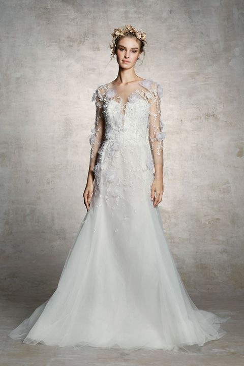 99 Best Long Sleeve Wedding Dresses 2018 - Top Bridal Gowns with Sleeves 3c4daa08f