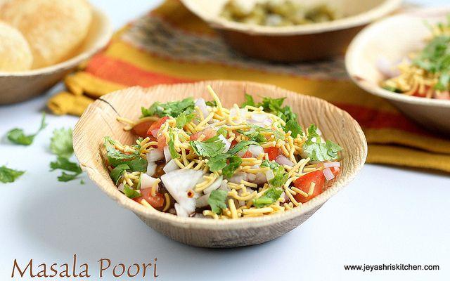 Jeyashri's Kitchen: MASALA POORI | MASALA PURI CHAAT RECIPE