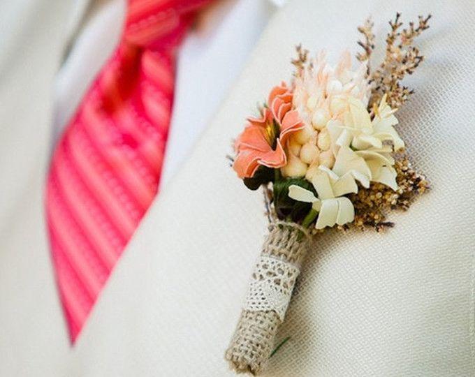 botonería para novio, boda rústica, accesorios nupciales, flores artificiales