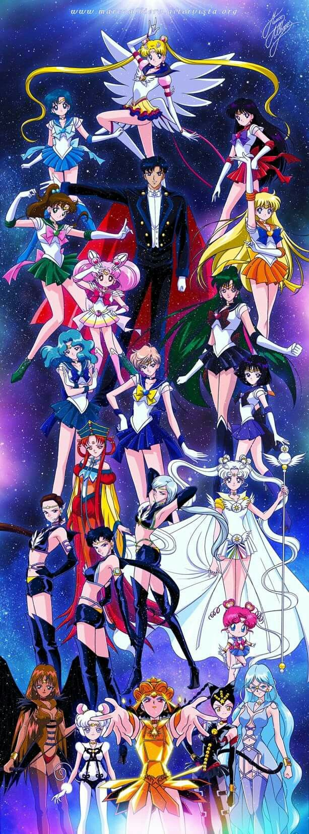 Marco Albiero Design | but why is Tuxedo Mask up here like he actually does shit lol