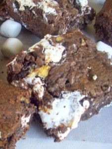 ... and Susan, and their recipe for Chocolate Mallomar Marshmallow Bars