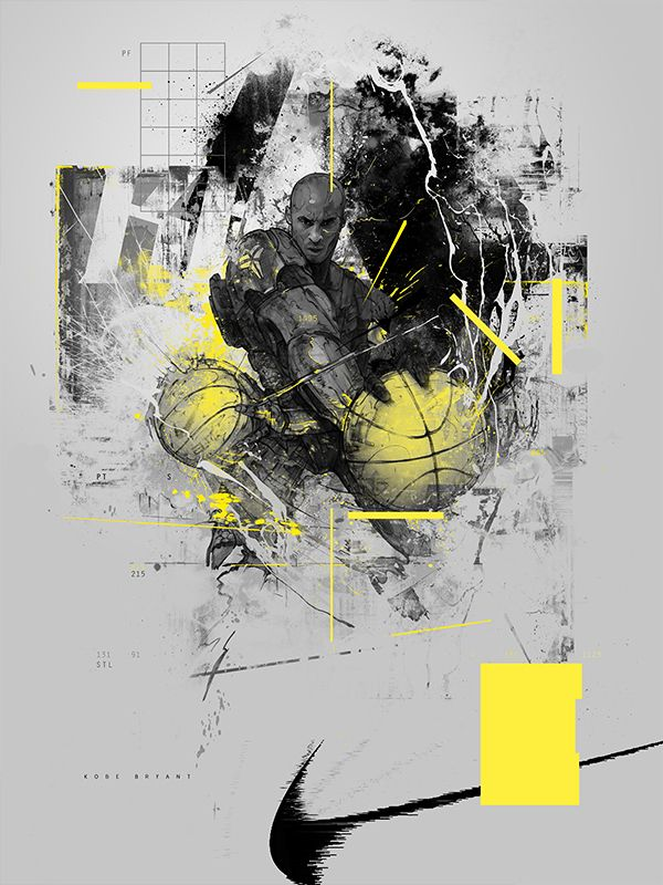StudioKxx, an independent graphic design and illustration studio run by polish designer Krzysztof Domaradzki, has been creating some amazing illustration work, as well as some very clean and modern branding solutions. What you see below is a new project that encapsulates soldiers posing as NBA players, extremely detailed and well executed.