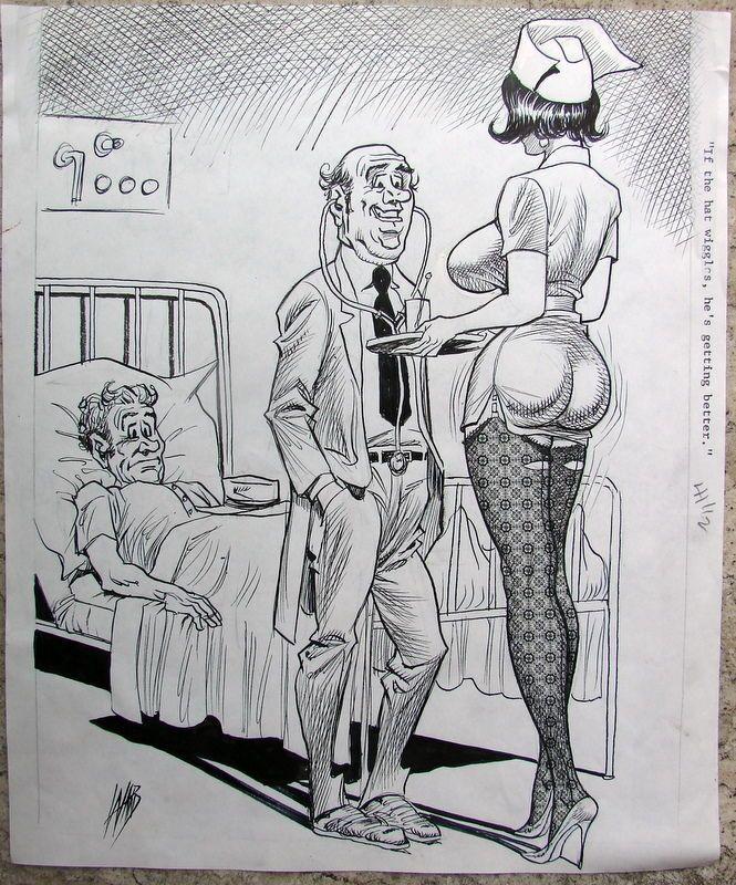 Wife Naked Erotic Cartoon