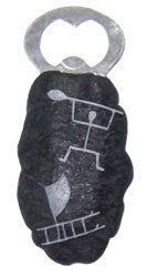 Hawaii Magnetic Petroglyph Bottle Opener Paddler by Buns of Maui. $8.49. Hawaiian Home Accessories add a beautiful and warm tropical touch to your home or office!. Hawaiian Magnetic Bottle Opener. Rounded shape fits comfortably in your hand. A great gift for family or friends. Measures 4 in. long.