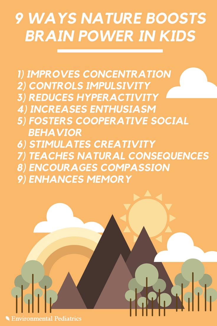 9 Ways Nature Boosts Brain Power in Kids | Environmental Pediatrics